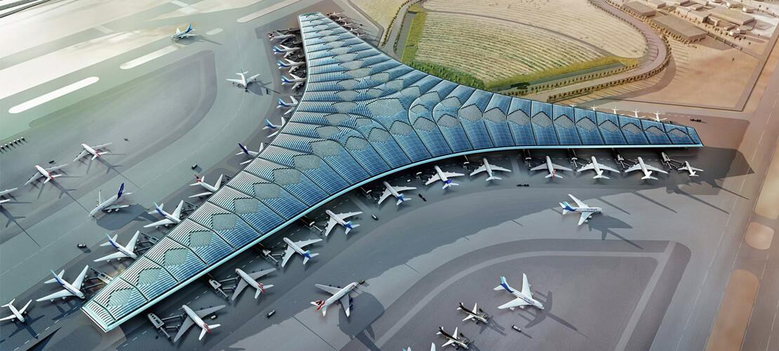 Kuveyt Uluslararası Havalimanı Yeni Yolcu Terminal Binası